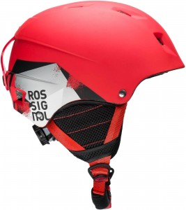 KASK ROSSIGNOL COMP J RED LED