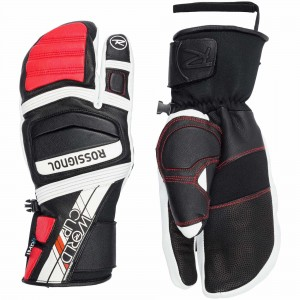RĘKAWICE ROSSIGNOL WC EXPERT IMPR LOBSTER RED