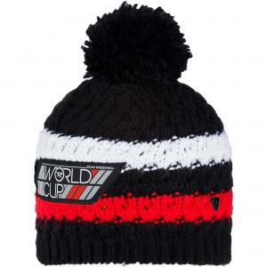 CZAPKA ROSSIGNOL L3 JR WORLD CUP BLACK
