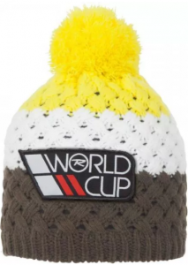 CZAPKA ROSSIGNOL L3 JR WORLD CUP LIGHT YELLOW