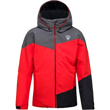 KURTKA ROSSIGNOL BOY SKI HEATHER JKT RED