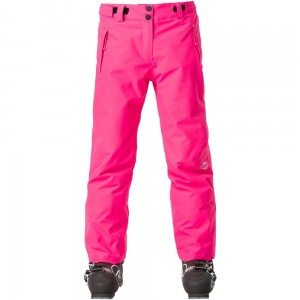 SPODNIE ROSSIGNOL GIRL CONTROLE PANT PINK