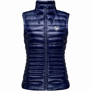 KAMIZELKA ROSSIGNOL W LIGHT DOWN VEST NOCTURNE BLUE