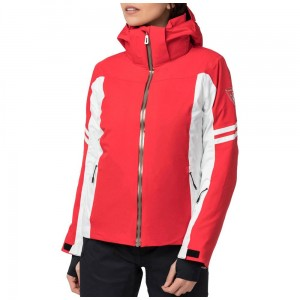 KURTKA ROSSIGNOL W COURSE JKT LIGHT RED