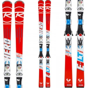 NARTY ROSSIGNOL HERO ELITE LT / R20 RACING  162 cm