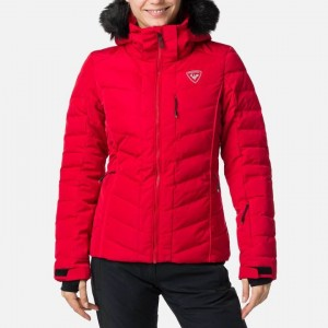 KURTKA ROSSIGNOL W RAPIDE JKT PEARLY RED 20/21