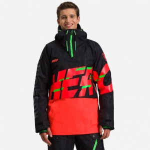 KURTKA ROSSIGNOL HERO EXCES ANORAK BLACK 21/22